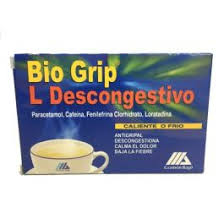 BIO GRIP L DESCONGESTIVO 5 SOBRES