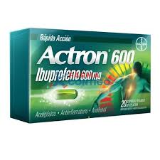 ACTRON 600 MG 10 CAP BLANDAS