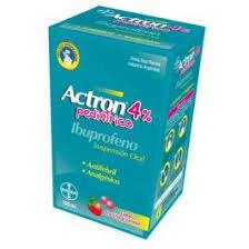 ACTRON PEDIATRICO 4% SUSP 100 ML