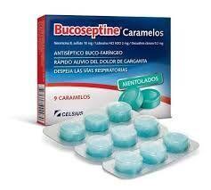 BUCOSEPTINE BLISTER 9 CARAMELOS